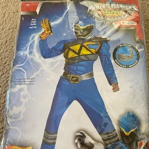 Blue power ranger M 7-8 with muscles!
